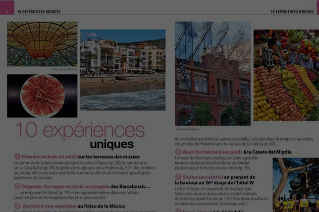 Aborígens provides contents for food and travel media in Barcelona, Catalonia and Spain